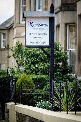 Kingsway Guest House Edinburgh sign
