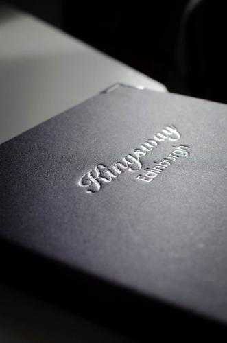 Kingsway Guest House B&B - visitors book