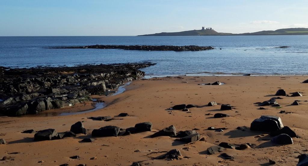 Embleton Beach north Northumberland