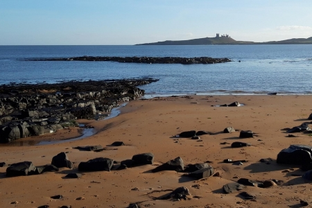 Embleton Beach north Northumberland