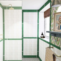 Glebe House Colyton B&B guest bathroom