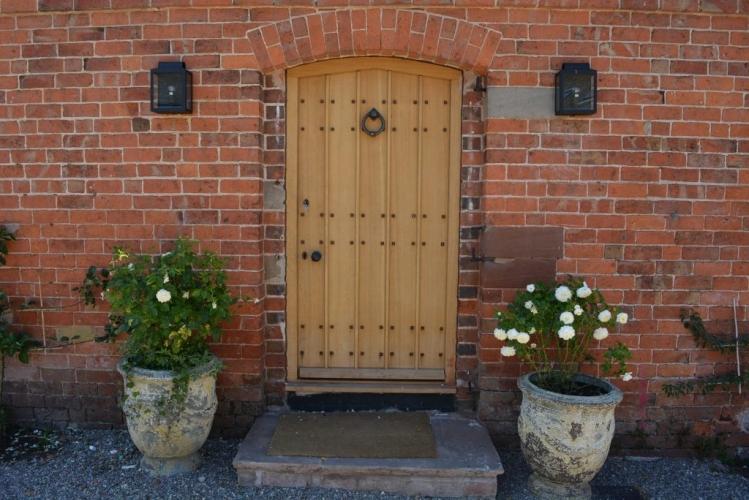 Upton Cressett The Moat House door