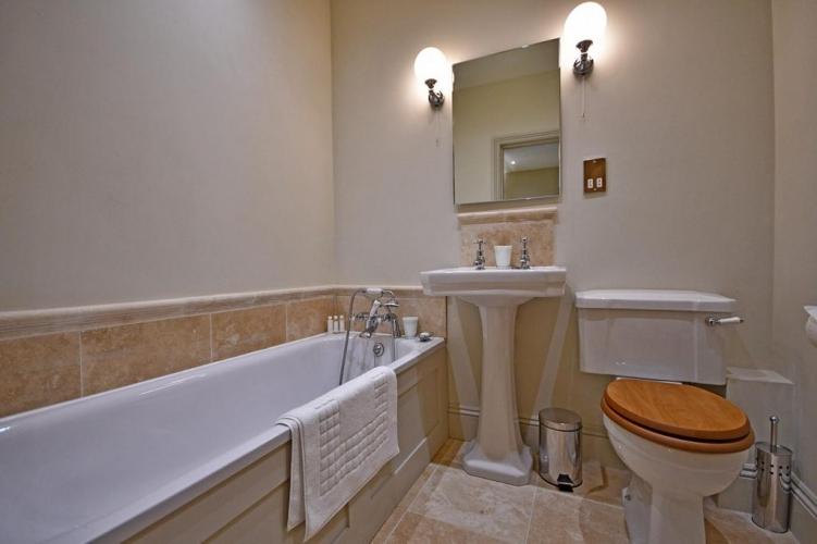 Upton Cressett The Moat House bathroom
