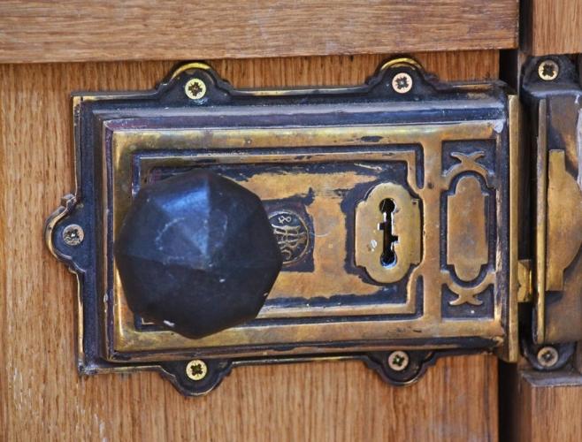 Upton Cressett The Moat House detail