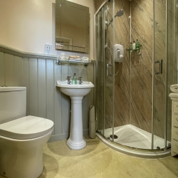 Post Office House B&B guest shower room