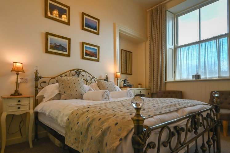 Post Office House B&B guest bedroom