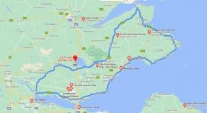 Fife coastal route Scottish Road Trip