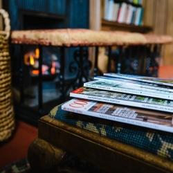 Hoveton Hall B&B magazines