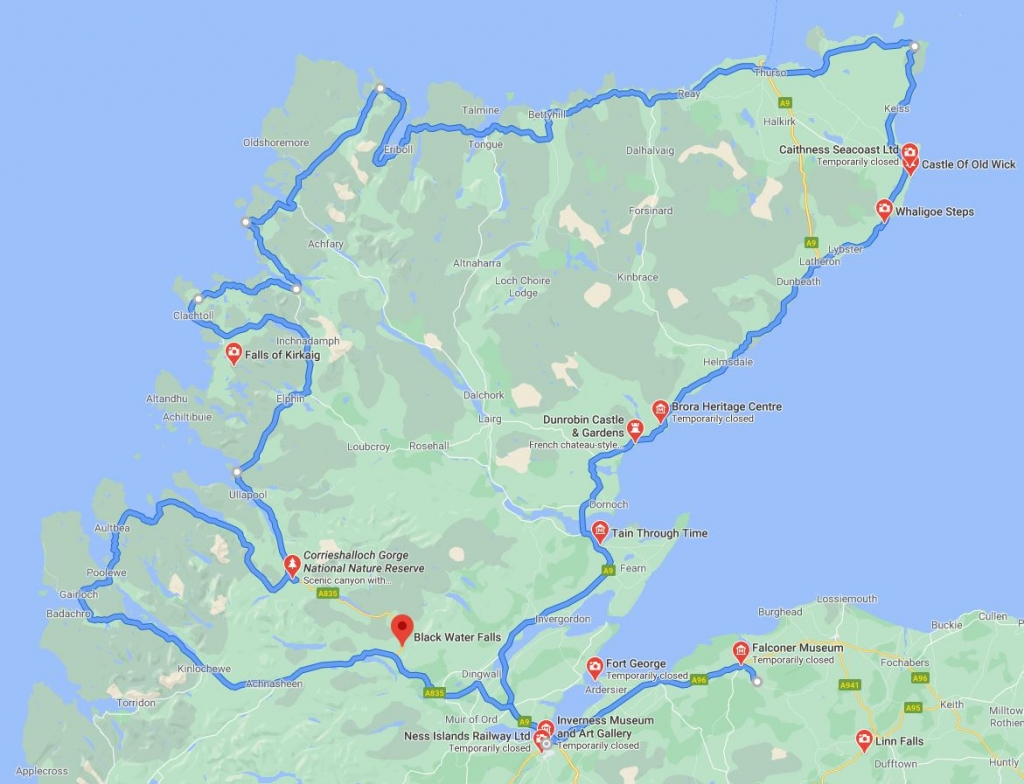 North Coast 500 Scottish Road Trip