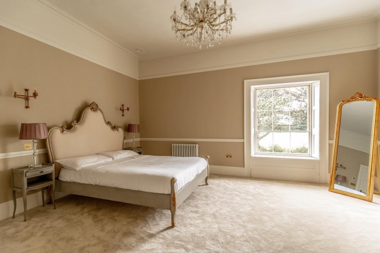 Reymerston Hall B&B near Norwich guest bedroom