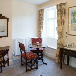 Lower Wythall B&B guest seating area