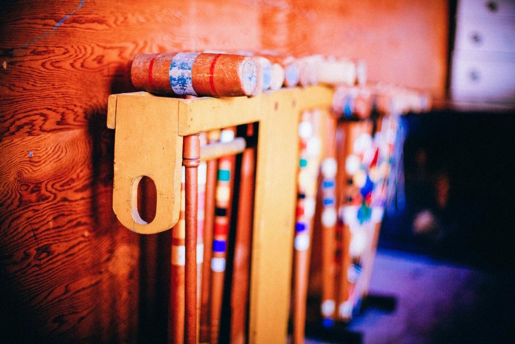 Wolsey Lodges B&B croquet set