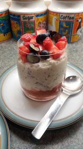 Troustrie bed and breakfast porridge