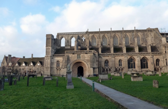 Malmesbury Abbey by Colin Legge
